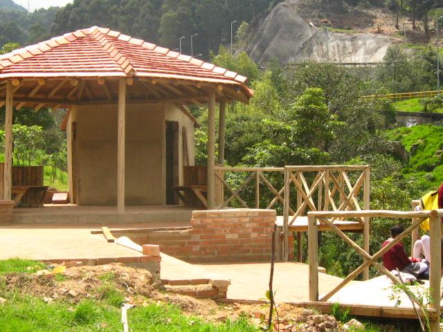 Guadua y madera para construcción